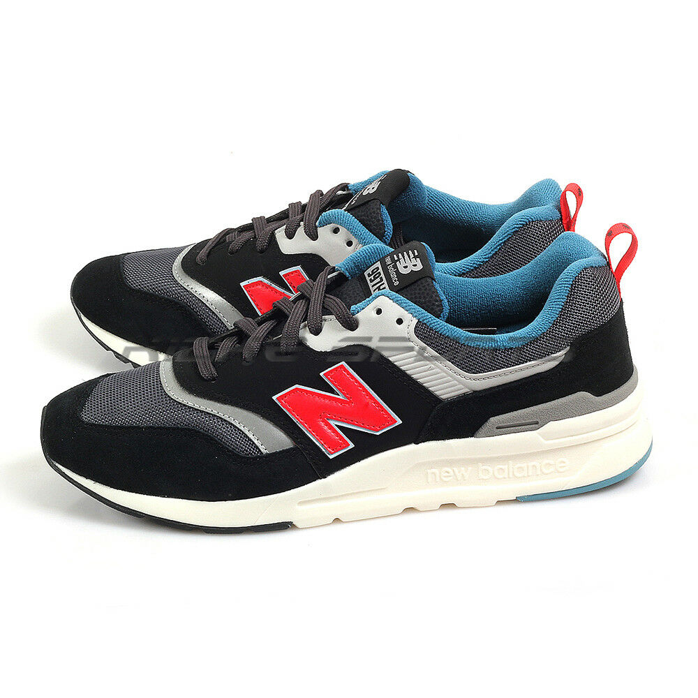 New Balance CM997HAI D Black & Grey & Red Lifestyle shoes Retro Sneakers 2019 NB