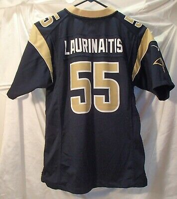 James Laurinaitis St. Louis Rams Nike Football Jersey Youth Size Large | eBay