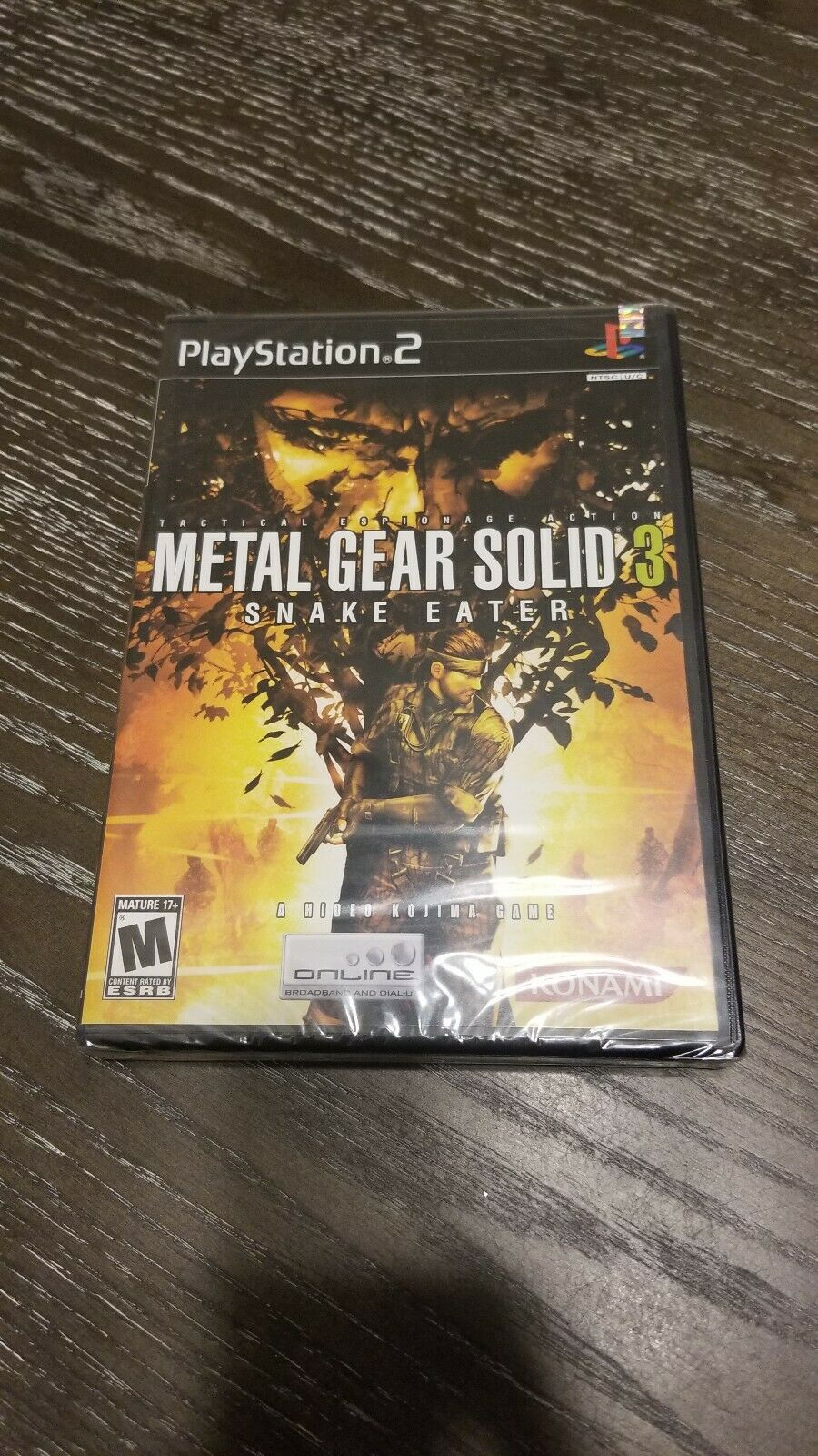 Metal Gear Solid 3 Snake Eater Sony Playstation 2 2004 For Sale Online Ebay