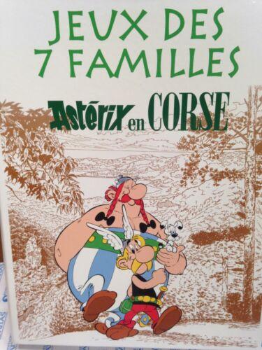 Astérix en Corse Jeu des 7 familles