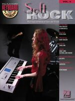 Soft Rock Sheet Music Keyboard Play-along Book And Cd 000699876