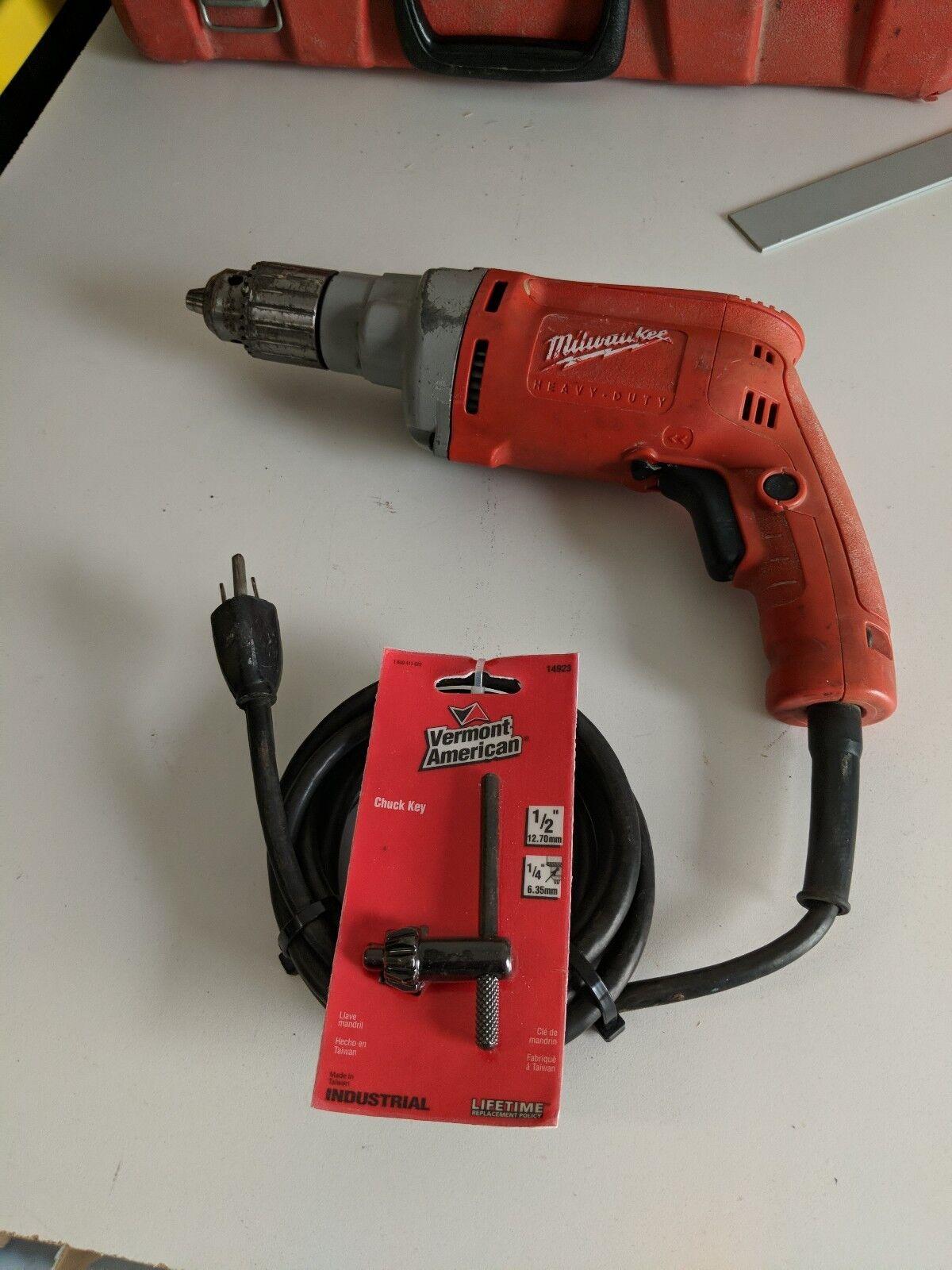 Milwaukee 0299-20 1 2  Corded Magnum Drill