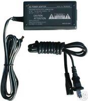 Ac Adapter For Sony Dsc-p100/r Dsc-p150 Dsc-p200 Dscp32