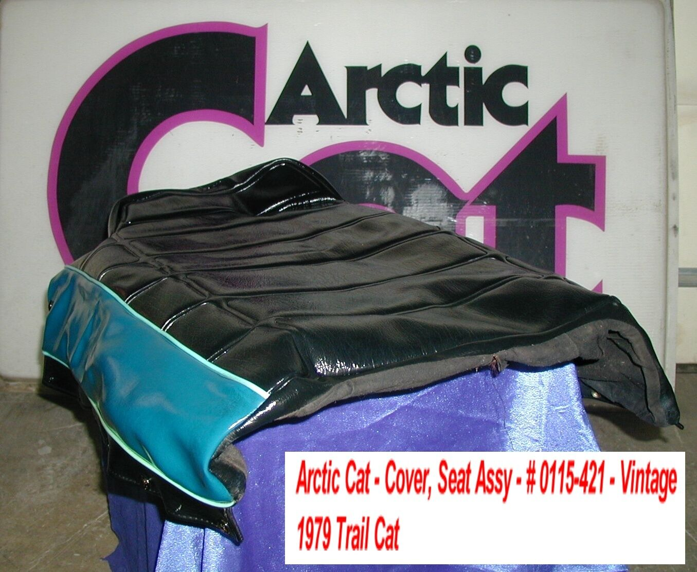 Arctic Cat Seat Cover Ass'y Trail Cat Vintage