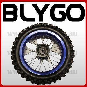 BLUE-12mm-Axle-3-00-12-12-034-Inch-Rear-Wheel-Rim-Tyre-Tire-PIT-PRO-Dirt-Bike