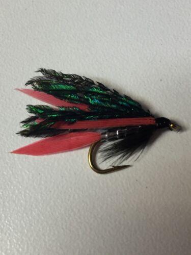 Pêche à la mouche Premier Collection Alexandra Wet Fly Pack Taille 10//12 Pack de 8