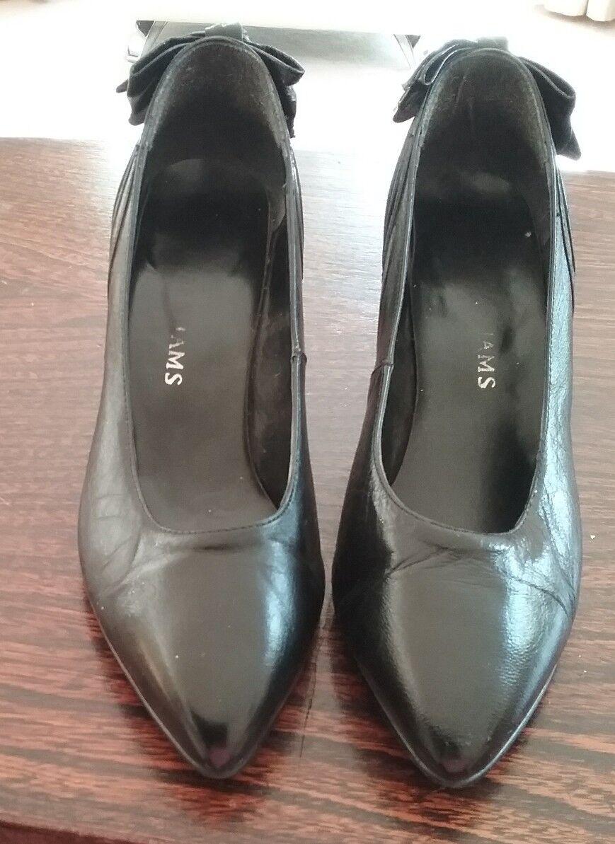 Mr/Ms Ladies comfortability black shoes Fine processing comfortability Ladies Amoy 15f5b6