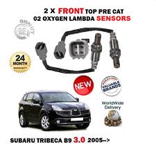 FOR SUBARU TRIBECA 3.0i B9 1/2005> BRAND NEW SET FRONT OXYGEN LAMBDA SENSORS