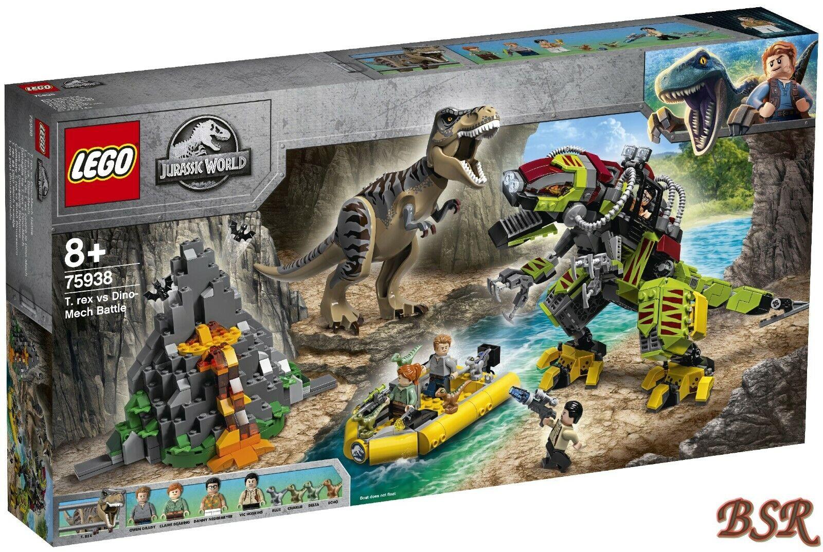 LEGO® Jurassic World™  75938 T. rex vs. Dino-Mech & 0.- Versand & NEU & OVP