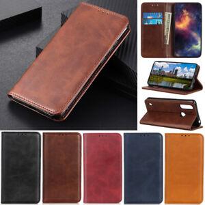 Retro Wallet Leather Flip Case Cover For Motorola Moto G30 G10 G8 Power G9 Play