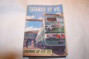 à Condition De Science Et Vie * Chemin De Fer 1952 Finement Traité
