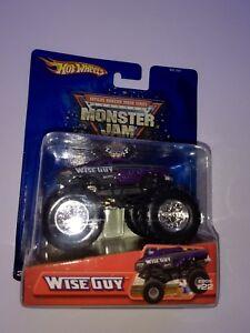 Hot-Wheels-Monster-Jam-Truck-1-64-Die-cast-Metal-Base-Rare-Wise-Guy-NEW