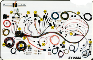 1967 - 1968 chevy gmc truck classic wiring harness aaw new usa quality  wiring | ebay  ebay