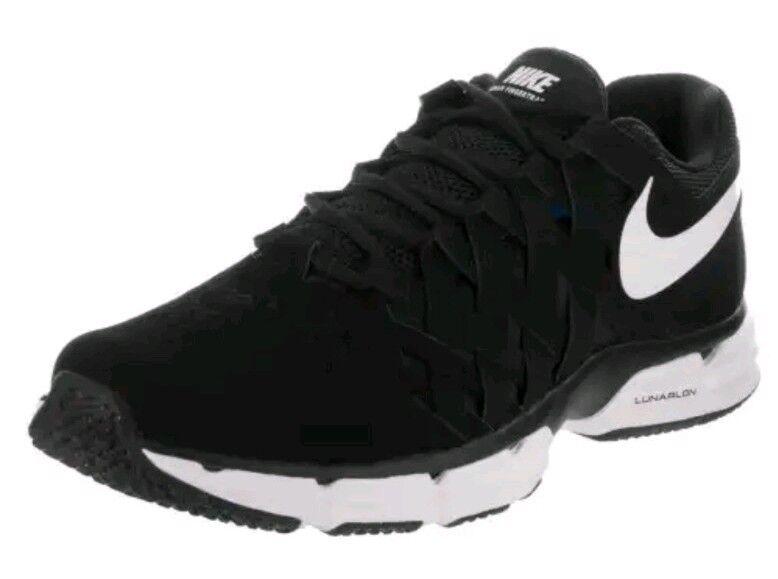 NEW Men's SZ TR 14 NIKE Lunar Fingertrap TR SZ Training Shoes Black / White 898066-001 93b9fe