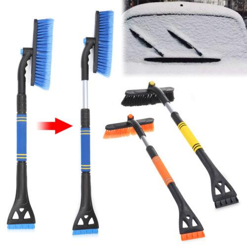 Winter Scraper Detachable Telescopic Handle Snow Ice Removal Shovel Snow Brush
