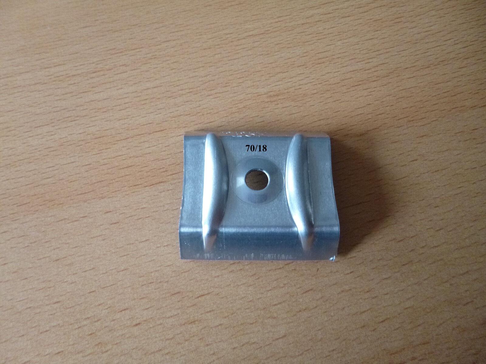 Alu - Kalotten für Lichtplatten und Trapezbleche Profil 70 18 - 183 40 - 207 35