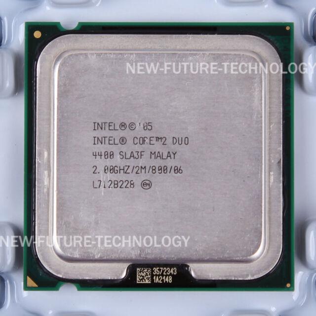 INTEL R CORE TM 2 DUO CPU E4400 SOUND DRIVERS (2019)