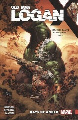 WOLVERINE OLD MAN LOGAN TPB VOL 6 DAYS OF ANGER REPS #25-30 NEW//UNREAD