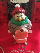 Christmas Disney Hallmark Keepsake Winnie The Pooh Owl Ornament In Box