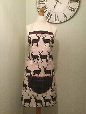 Glencoe Stag Deer Country Animal Pinny Apron Kitchen Cooking