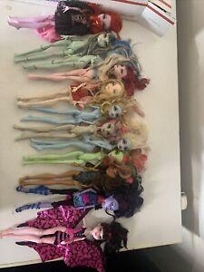 Monster-High-Dolls-Doll-lot-of-12-Mattel-2008-2011