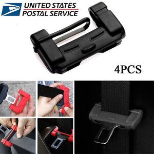 Car Seat Belt Buckle Silicone Covers Clip Anti-Scratch//Collision Cover Accessori