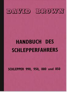 David-Brown-990-950-880-850-Bedienungsanleitung-Betriebsanleitung-Handbuch