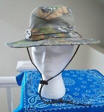 item 2 Signatures Mens Mossy Oak Camouflage Wide Brim Fedora Hat S M  -Signatures Mens Mossy Oak Camouflage Wide Brim Fedora Hat S M 2e078665e79c