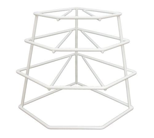 Delfinware Plate Stacker White
