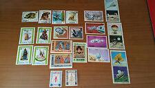lotto di francobolli dell'ASIA