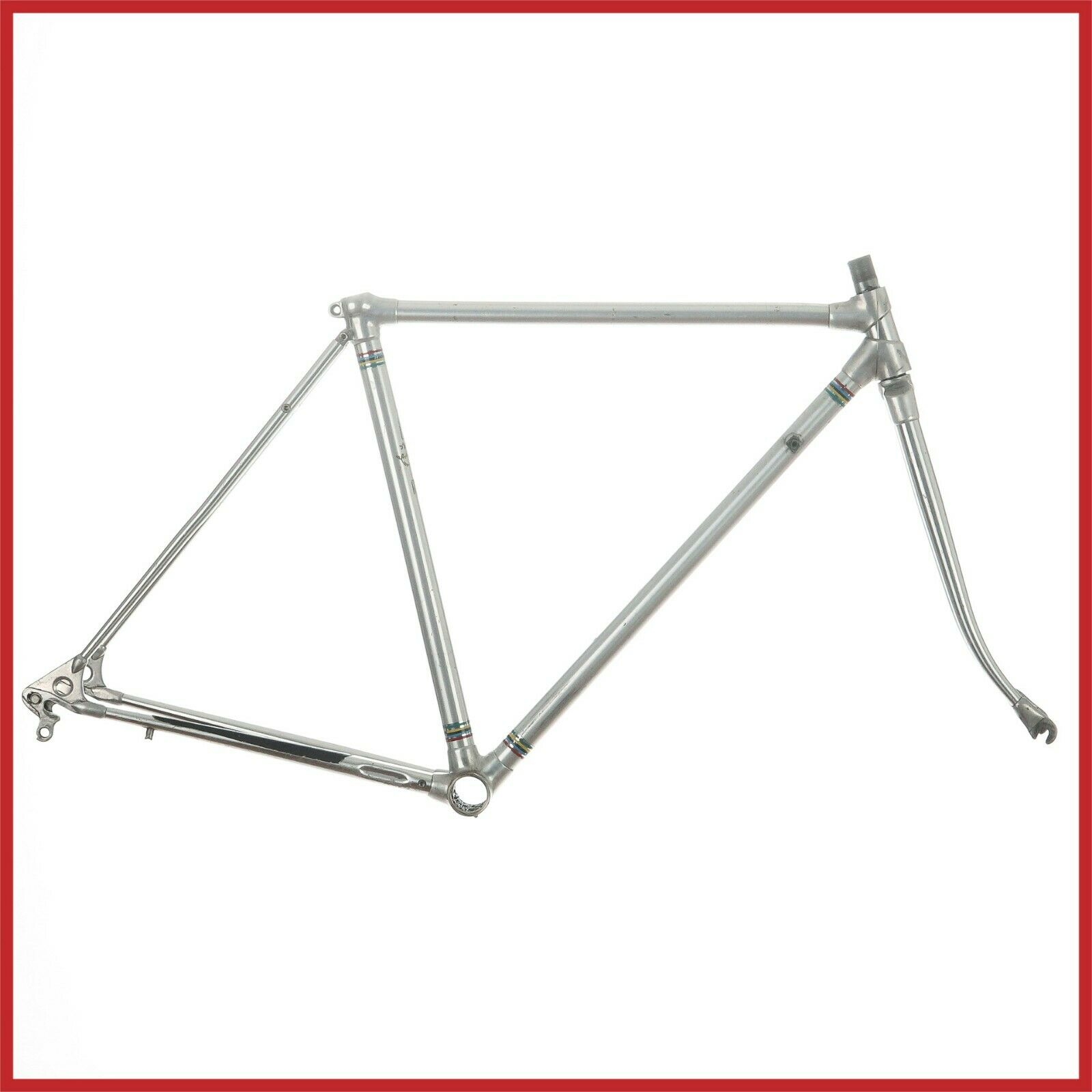 Cuadro Marco De Aluminio ALAN COMPETIZIONE 70s Vintage Bike Lugs EROICA Aleación