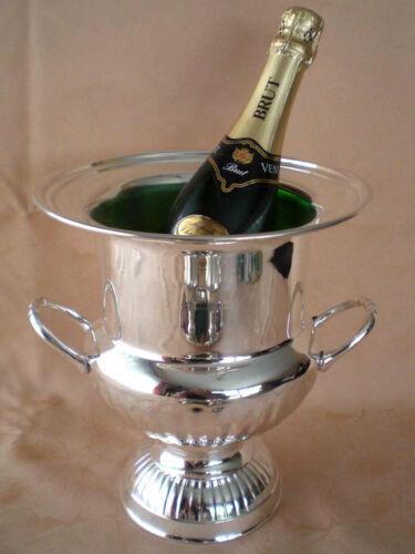 Sektkübel Eleganter Jugendstil Sektkühler 26cm hoch /& Ø 22cm champagne cooler
