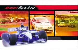 Australia-Post-Design-Set-MNH-2002-Sport-Motor-Racing-in-Australia