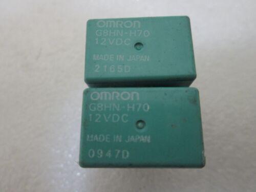 QUANTITY 2 LOT OF 2 Honda Acura Omron Relay OEM G8HN-H70