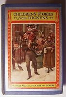 CHILDREN'S STORIES FROM DICKENS Mary Angela Dickens ILLUS Harold Copping - E