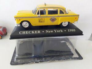 IXO-1-43-CHECKER-NEW-YORK-1980-NEUF-EN-BOITE