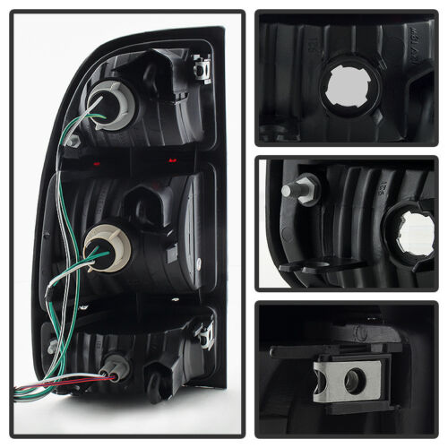 For 2000 2001 2002 2003 2004 Toyota Tundra Pickup Tail Brake Lights Left+Right