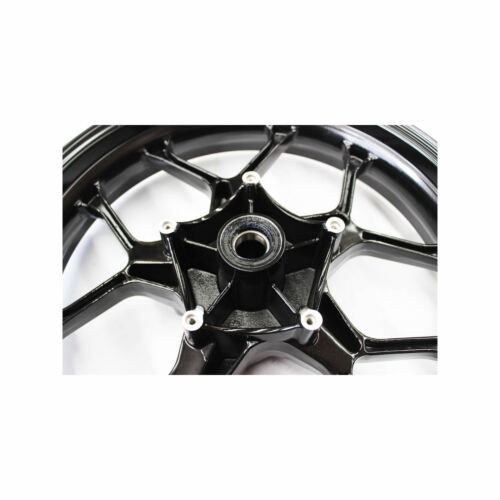 Black Front Wheel Black Rim for Yamaha YZF-R1 R1 2015 2016 Motorcycle Sport Bike