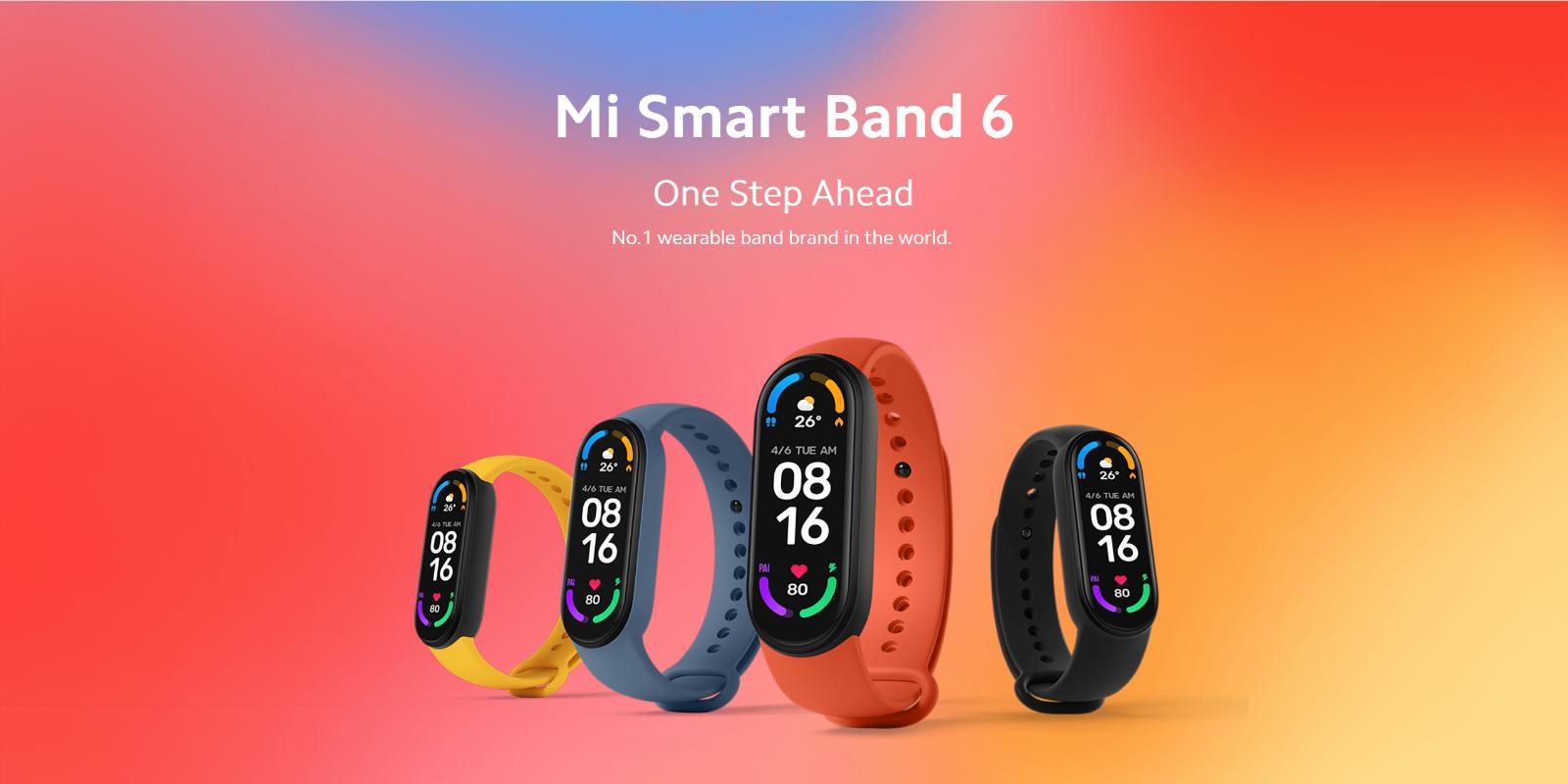 Xiaomi Mi Band 6 1.56 AMOLED Blood Oxygen Fitness Tracker Heart Rate Monitor NFC amoled band blood fitness heart monitor oxygen rate tracker xiaomi