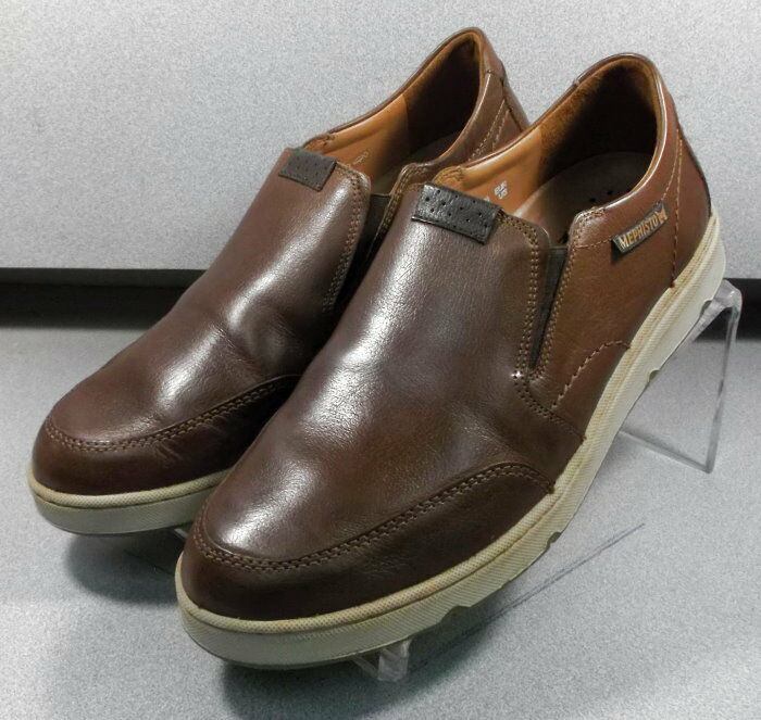 JOSS BROWN MMPF60 Men's shoes Size 8.5 (EUR 8) Leather Slip On  Mephisto