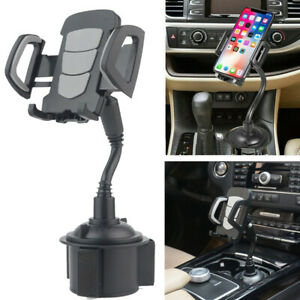 360-Universal-Car-Mount-Adjustable-Gooseneck-Cup-Holder-Cradle-for-Cell-Phone