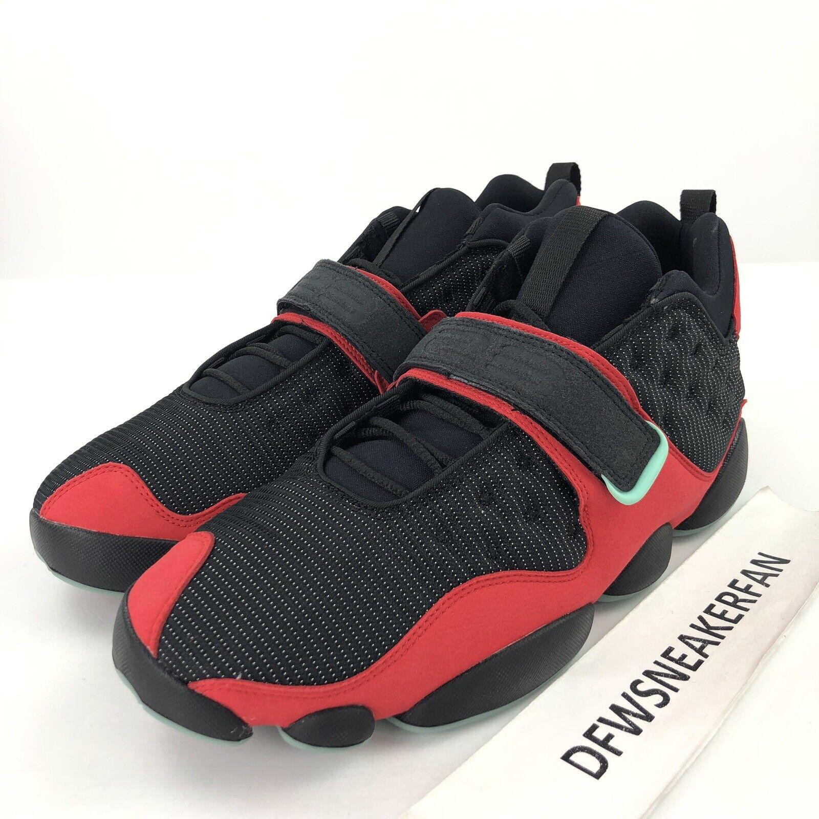Nike Air Jordan Black Cat Bred Men SZ 10.5 Black Red Tinker Hatfield AR0772-006