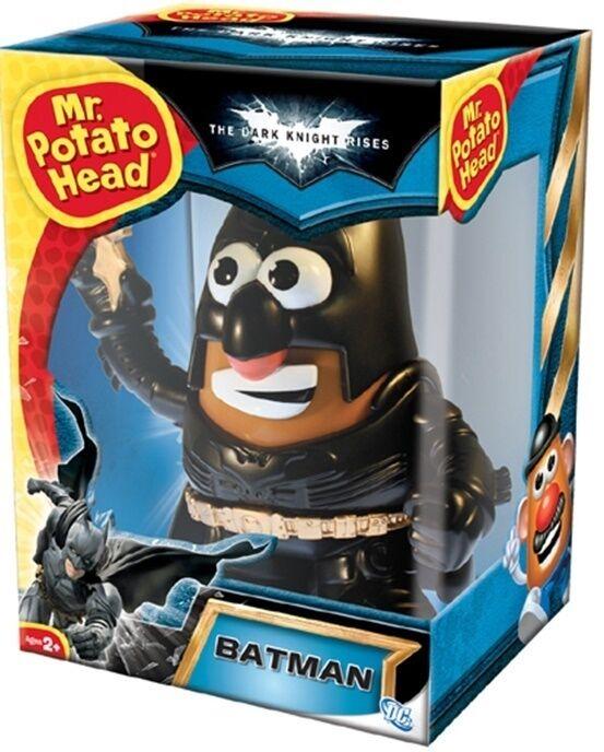 Dc - comic - herr kartoffelkopf mixable mashable helden 6  abbildung der dunkle ritter batman