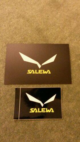 Objet de collection 2 RARE Salewa stickers