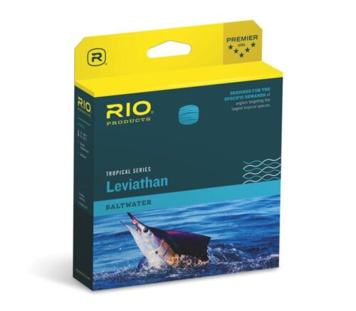 RIO TROPICAL LEVIATHAN 26 FT SINK TIP 350 GRAIN SALTWATER FLY LINE FOR 9//10 WT.