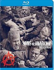 Sons of Anarchy: Season Six (Blu-ray Disc, 2014, 4-Disc Set)