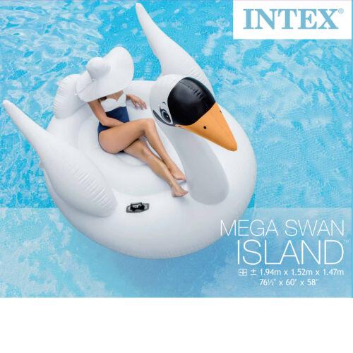 Intex 56287 Badeinsel Schwan Schwimmliege Pool Lounge Wasserliege Luftmatratze