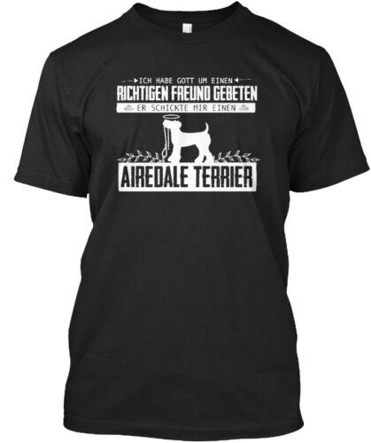 Hunde Richtiger Freund Airdale Terrier Stylisches T-Shirt