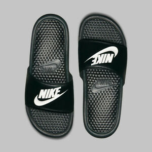 Nike Benassi JDI Black White Sandal