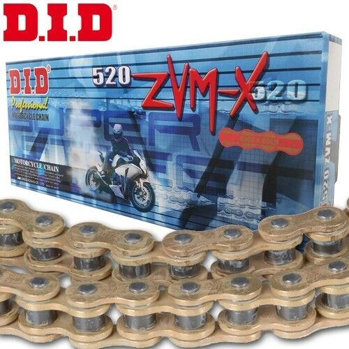 DID Kette Ducati 899 Panigale Bj.2014  X-Ring 520ZVM-X gold Niet
